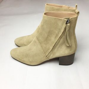 Banana Republic Suede Ankle Boots